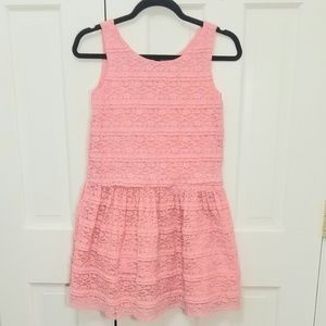 GAP Girls Peach Lace Dress